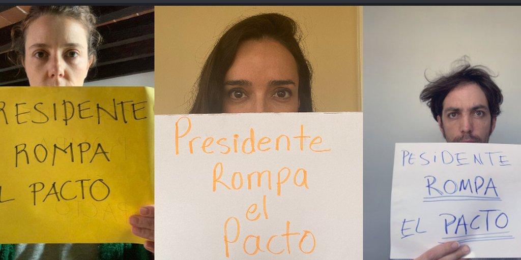 Rompa el pacto, presidente, hay cosas más allá de lapolítica