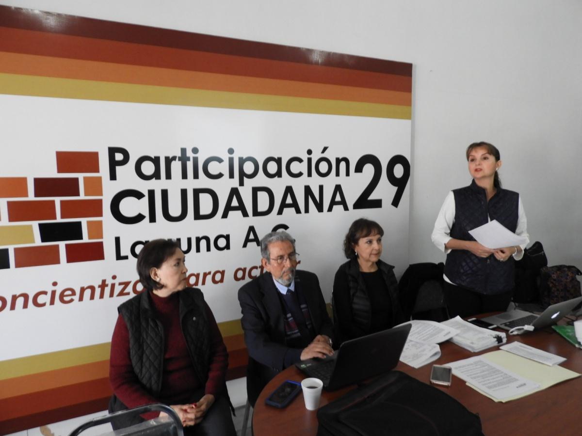 Comunicado sobre presupuesto de egresos Coahuila2019